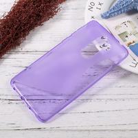 S-line gelový obal na mobil Honor 6x - fialový