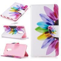 Emotive peněženkové pouzdro na mobil Honor 6x - květ