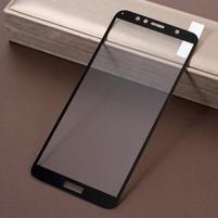 Silk celoplošné tvrzené sklo na Honor 7A a Huawei Y6 Prime (2018) - černé