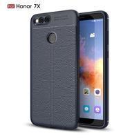 Litch odolný gélový obal na mobil Honor 7X - tmavomodrý