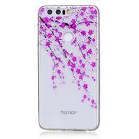 Bossi gelový obal na Honor 8 - rozkvetlá větev