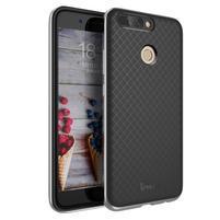 Odolný obal 2v1 na mobil Honor 8 Pro - šedý lem