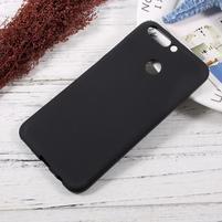 Matný gelový obal na mobil Honor 8 Pro - černý