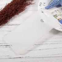 Matný gelový obal na mobil Honor 8 Pro - průhledný
