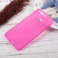 Matný gelový obal na mobil Honor 8 Pro - rose