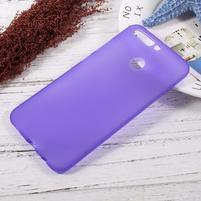 Matný gelový obal na mobil Honor 8 Pro - fialový