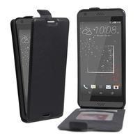 Flipové PU kožené pouzdro na HTC Desire 630 a Desire 530 - černé