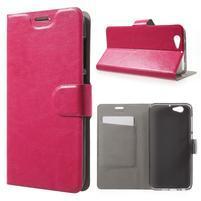 Horse PU kožené pouzdro na mobil HTC One A9s - rose