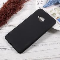 Matný gelový obal na HTC U Play - černý