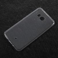 Ultratenký gelový obal na mobil HTC U11 - transparentní