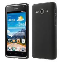 Double matný gelový obal na mobil Huawei Ascend Y530 - černý