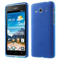 Double matný gelový obal na mobil Huawei Ascend Y530 - modrý