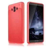 IVS odolný gelový obal s texturovanými zády na Huawei Mate 10 - červený