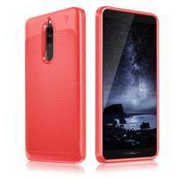 IVS odolný gelový obal s texturou na Huawei Mate 10 Lite - červený