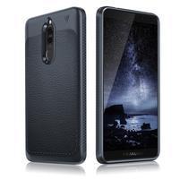 IVS odolný gelový obal s texturou na Huawei Mate 10 Lite - tmavěmodrý