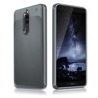 IVS odolný gelový obal s texturou na Huawei Mate 10 Lite - šedý