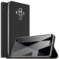 Magnetic PU kožené pouzdro na Huawei Mate 10 Pro -  černé