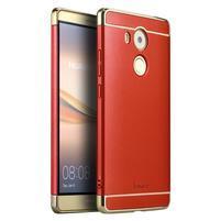 Luxy odolný plastový obal 3v1 na Huawei Mate 8 - červený