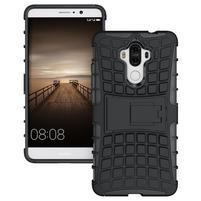 Outdoor odolný obal se stojánkem na Huawei Mate 9 - černý