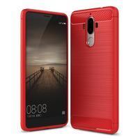 Carbon odolný gelový obal na Huawei Mate 9 - červený