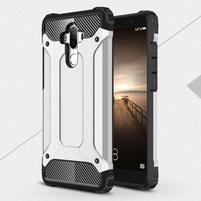 Defender odolný obal na mobil Huawei Mate 9 - stříbrný