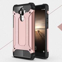 Defender odolný obal na mobil Huawei Mate 9 - růžovozlatý