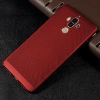 Rubbi plastový obal na Huawei Mate 9 - červený