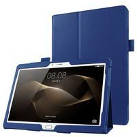 Litch dvoupolohové pouzdro na tablet Huawei MediaPad M2 10.0 - tmavěmodré