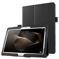 Litch dvoupolohové pouzdro na tablet Huawei MediaPad M2 10.0 - černé