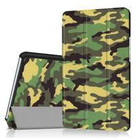 Pattern knížkové zapínací pouzdro na Huawei MediaPad M3 8.4 - kamufláž