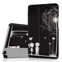 Pattern knížkové zapínací pouzdro na Huawei MediaPad M3 8.4 - láska