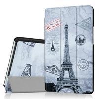 Pattern knížkové zapínací pouzdro na Huawei MediaPad M3 8.4 - Eiffelova věž