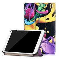 Emotive PU kožené pouzdro na Huawei MediaPad M3 8.4 - funs
