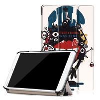 Emotive PU kožené pouzdro na Huawei MediaPad M3 8.4 - monster