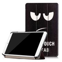 Emotive PU kožené pouzdro na Huawei MediaPad M3 8.4 - nešahat