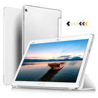 Třípolohové klopové pouzdro na Huawei MediaPad M3 Lite 10 - bílé