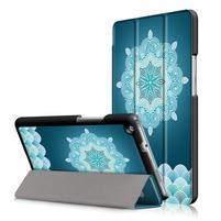 Emotive polohovatelné pouzdro na Huawei MediaPad M3 Lite 8.0 - mandala