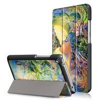 Patty PU kožené puzdro na tablet Huawei MediaPad T3 7.0 - farebné snenie
