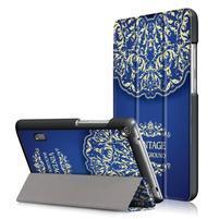 Patty PU kožené pouzdro na tablet Huawei MediaPad T3 7.0 - vintage