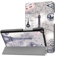 Emotive PU kožené pouzdro na Huawei MediaPad T3 8.0 - Eiffelova věž