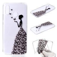 Patt silikonový obal pro Huawei Nova 3 - motýlí dívka