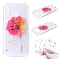 Patt silikonový obal pro Huawei Nova 3 - květiny