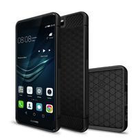 IVS hexagon odolný gelový obal na Huawei P10 - černý