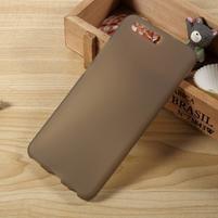 Matný gelový obal na mobil Huawei P10 - šedý