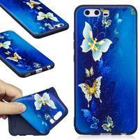 Bossi gelový obal na mobil Huawei P10 - motýlkové