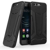 Kick odolný obal na mobil Huawei P10 - černý