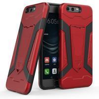 Kick odolný obal na mobil Huawei P10 - červený