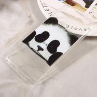 Emotive tenký gelový obal obal na mobil Huawei P10 - panda