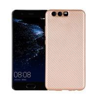 Carbo gelový obal na Huawei P10 - zlatý