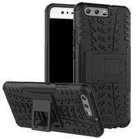 Outdoor odolný obal na mobil Huawei P10 - černý
